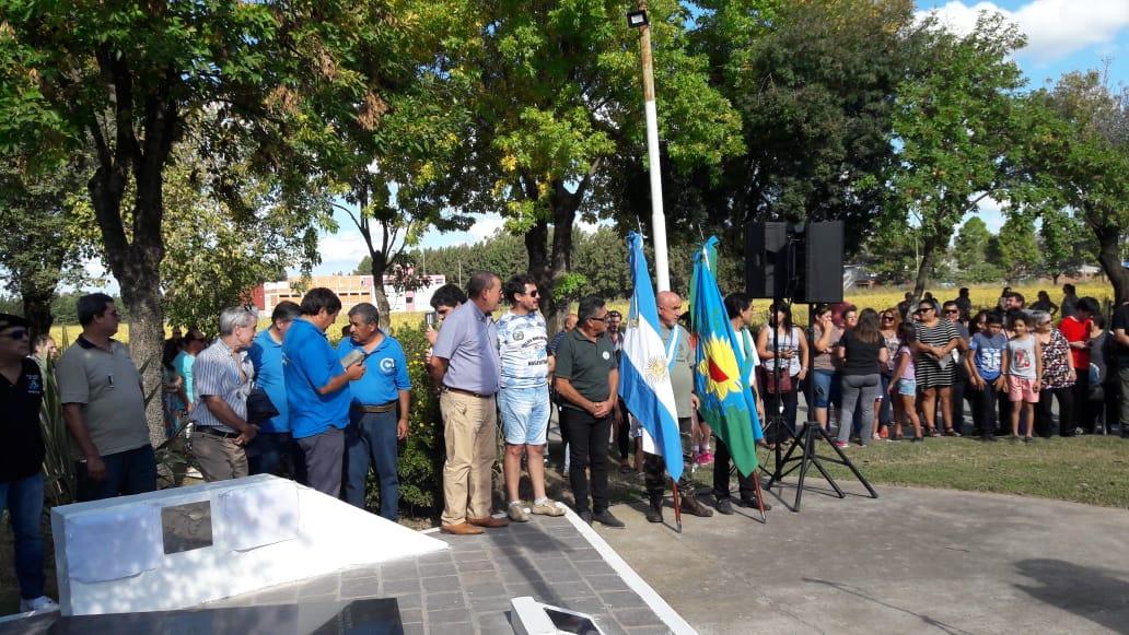 En Lima se homenajeó a los ex combatientes
