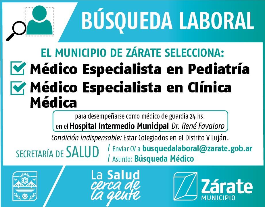 Nueva búsqueda municipal para el área de Salud