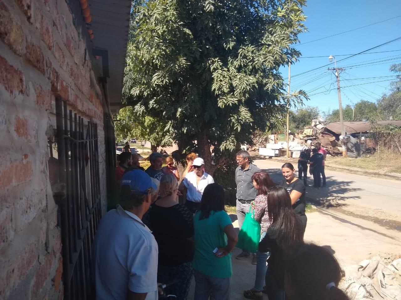 El Municipio se comprometió a seguir trabajando en la Regulación Dominial con vecinos de COVEPAM II