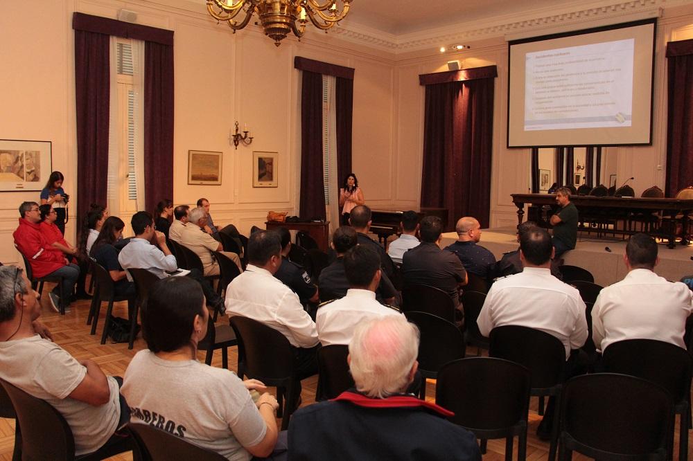 La ARN brindó una charla en el Municipio