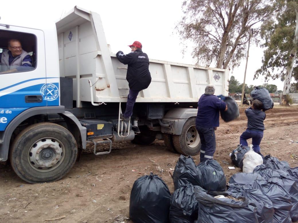 Municipio suma a otro barrio a la recolección de basura