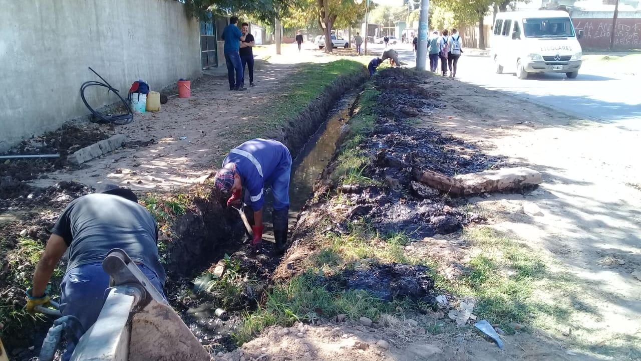 El Municipio continúa con los trabajos en los barrios