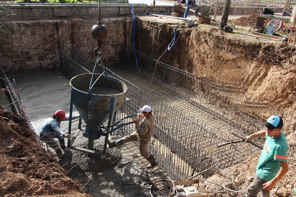 Ya está en marcha importante obra de infraestructura de desagües pluviales