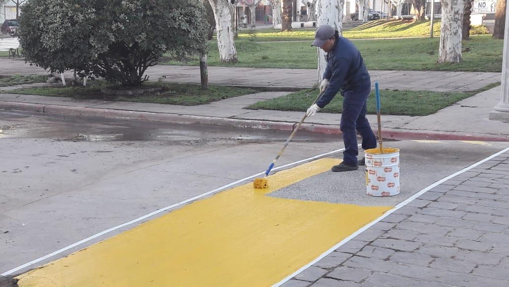 Lima embellece la plaza Mitre