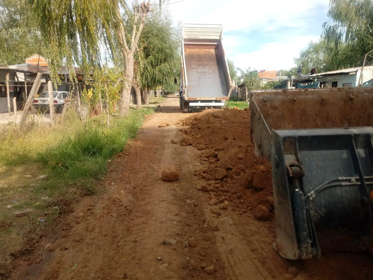 Municipio realiza obras en el barrio La Ilusión