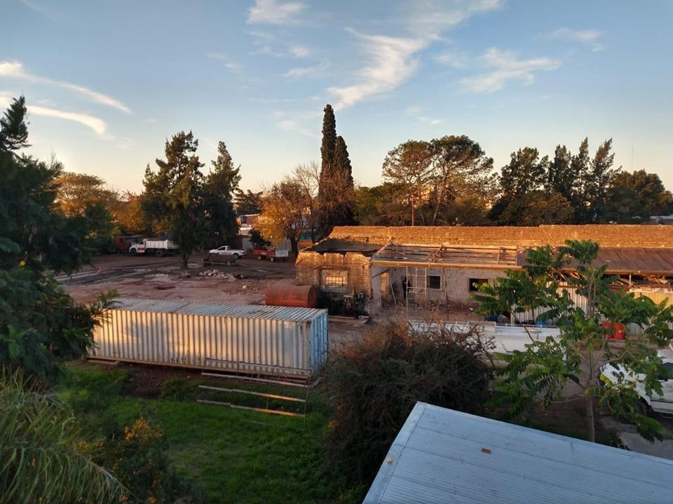 Municipio trabaja en la remodelación del Corralón municipal