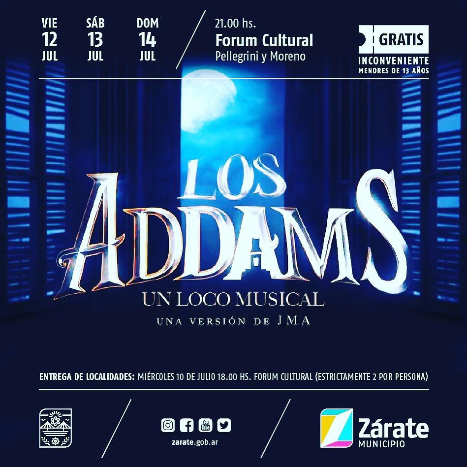 """Se estrena en el Forum Cultural la comedia musical """"Los Addams"""""""
