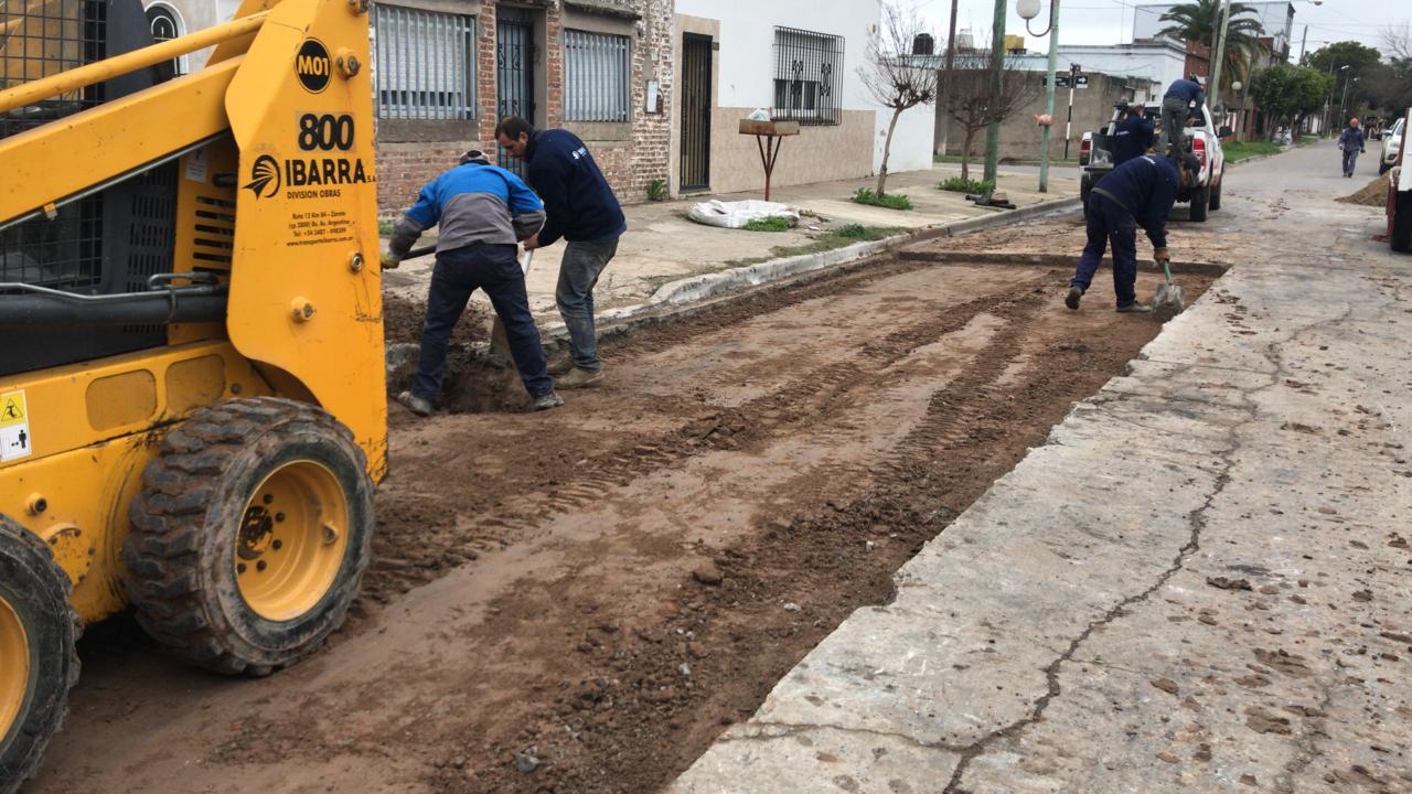 Se presentó el Plan Integral de Bacheo en la ciudad