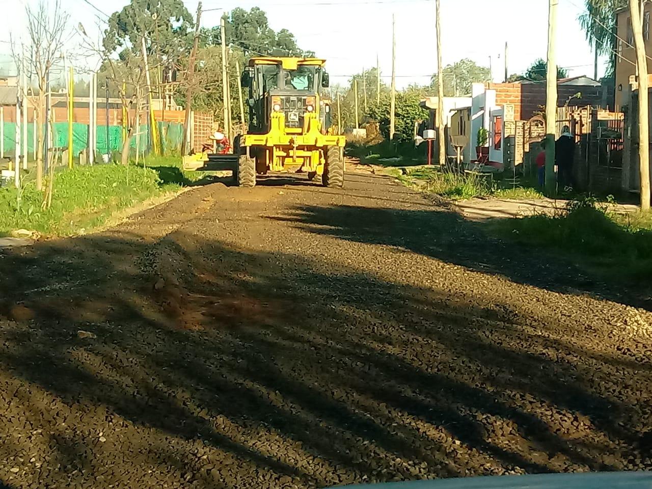 Continúan los trabajos de Servicios Públicos en el Programa Mi Barrio