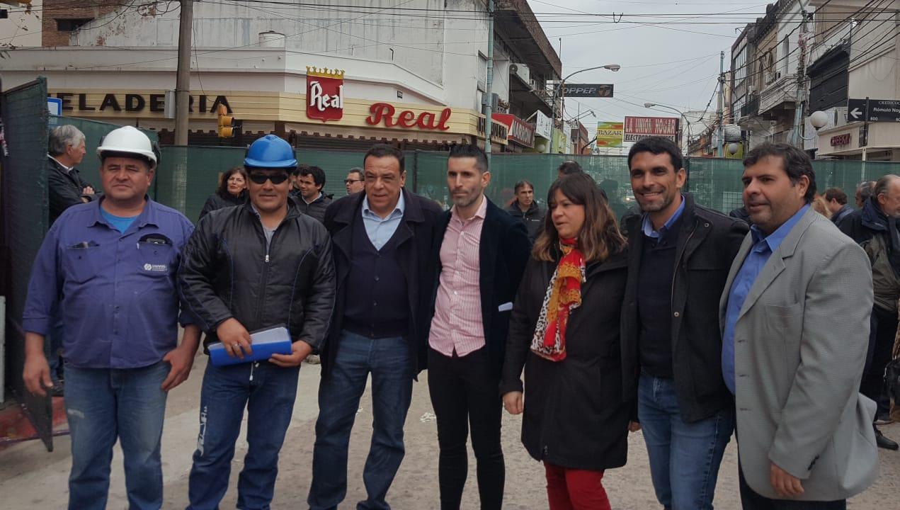 Comenzó la segunda etapa de la obra Justa Lima – Centro Comercial a Cielo Abierto