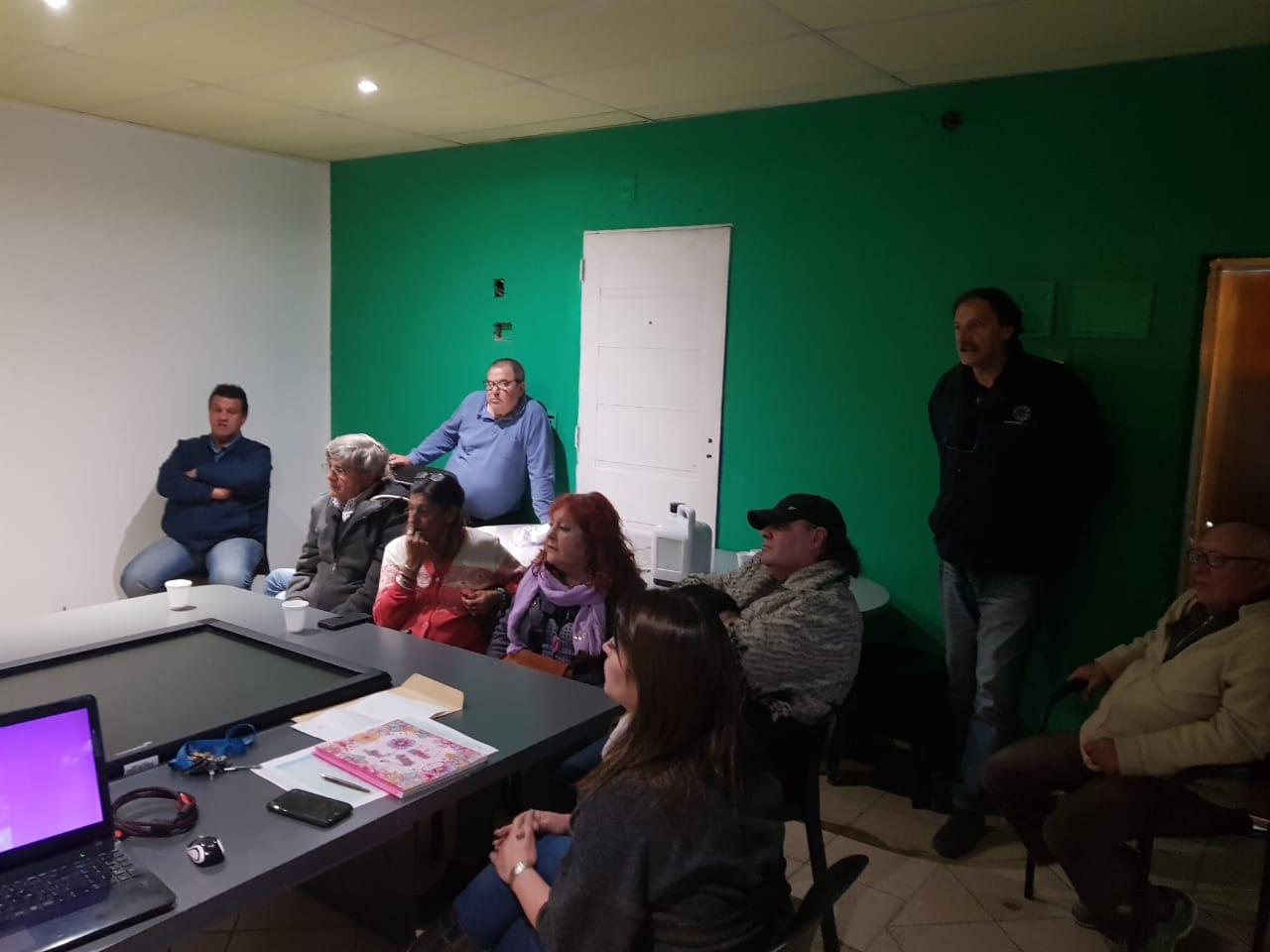 Funcionarios municipales se reunieron con vecinos para evaluar el trabajo de prevención