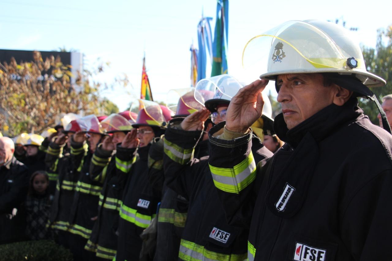 Se celebró el 135° aniversario del Día del Bombero Voluntario