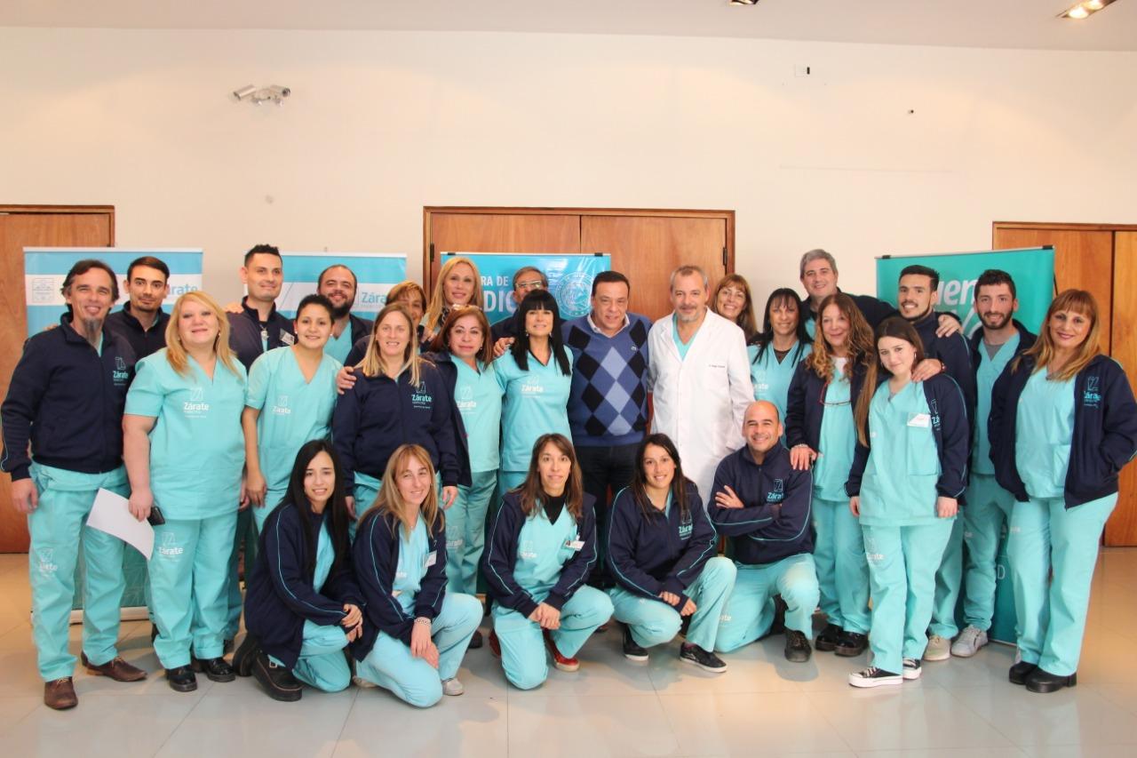 Municipio capacitó a 55 enfermeras para fortalecer la cobertura universal de vacunación