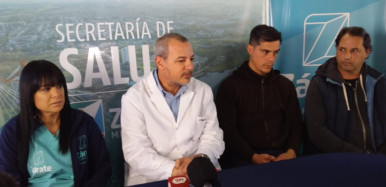 Municipio articuló para que Constantino Milivinti recibiera donación de glóbulos blancos