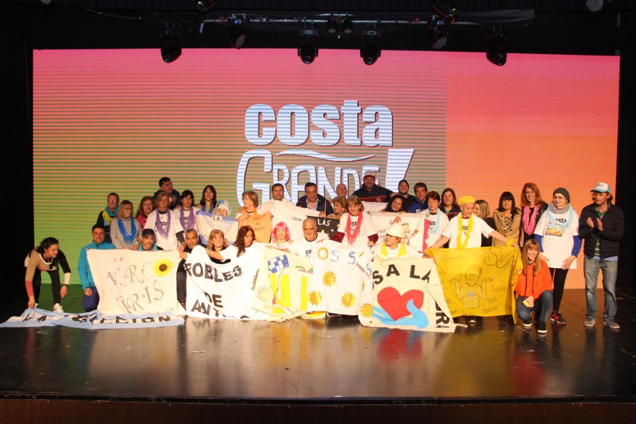 Multitudinario y divertido lanzamiento de Costa Grande: los ganadores viajarán a Villa Carlos Paz