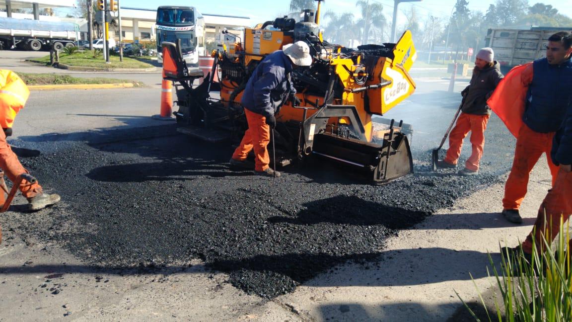 Avanza la reparación integral de la avenida Lavalle
