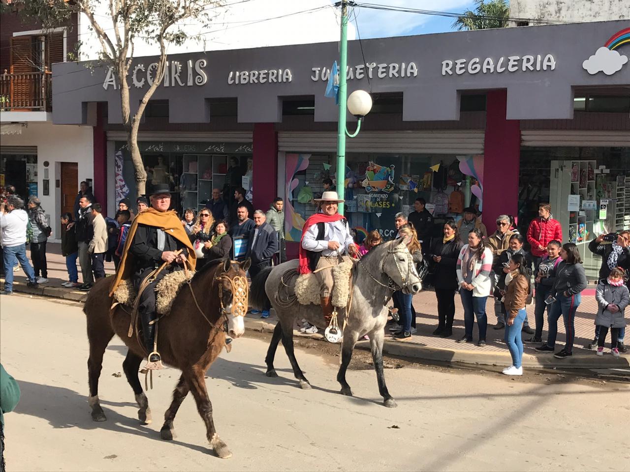 Se realizó el Desfile Gauchesco por el Aniversario de Lima
