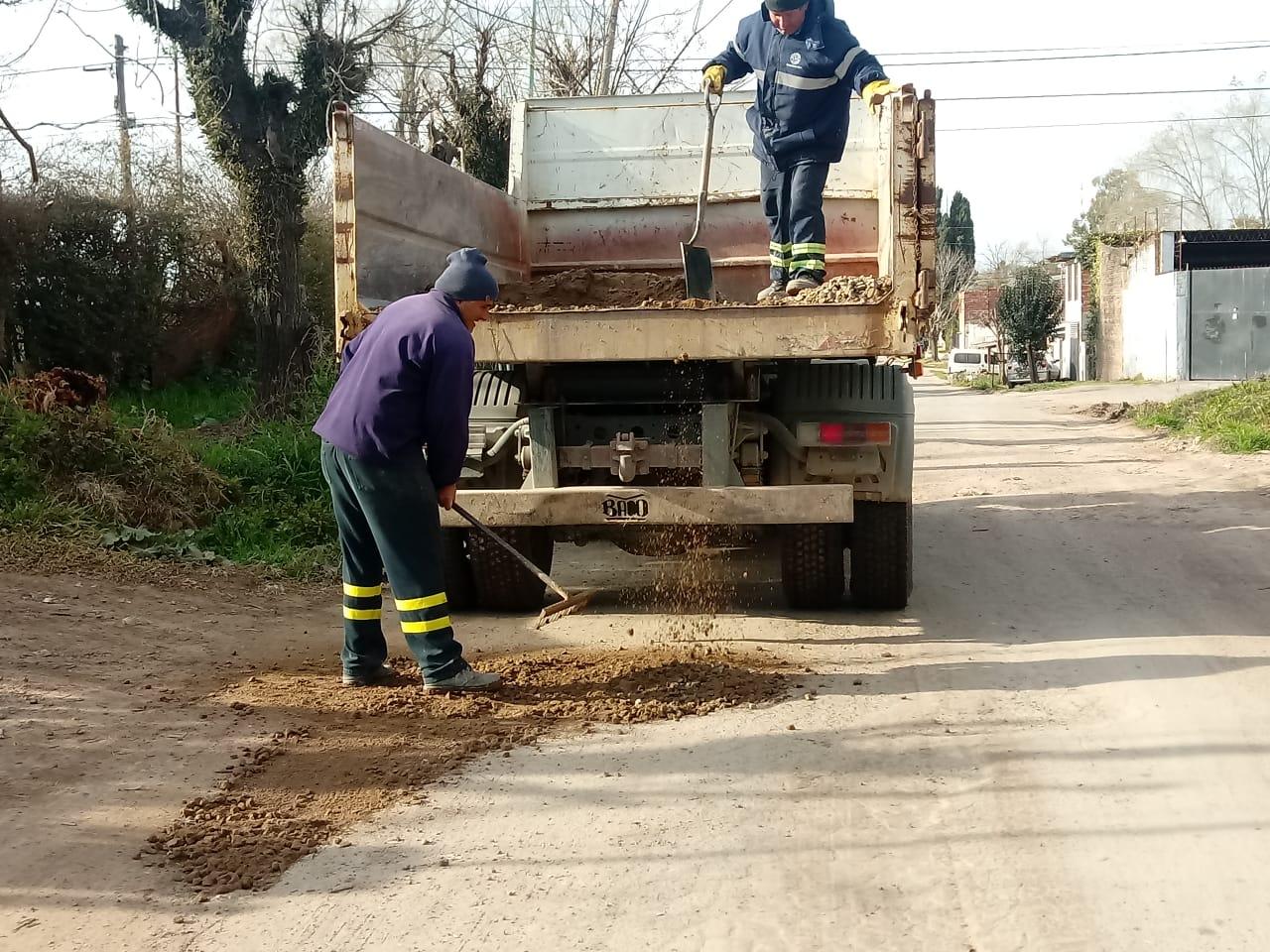 Municipio sigue con obras en calles para aumentar la seguridad vial