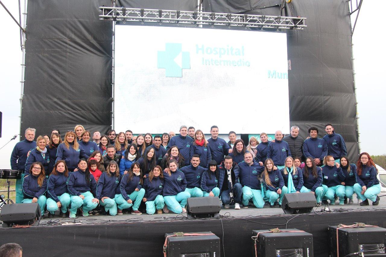 """El Municipio celebró el 4° Aniversario del Hospital Intermedio Municipal """"René Favaloro"""""""