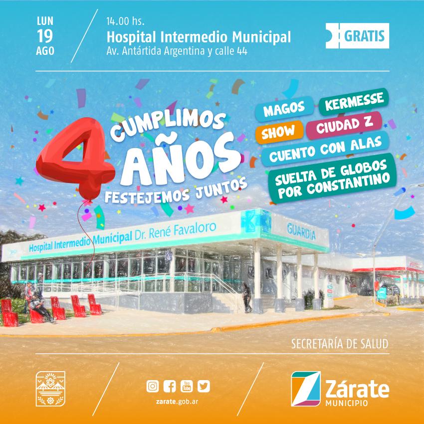 Gran evento por el 4° Aniversario del Hospital Favaloro