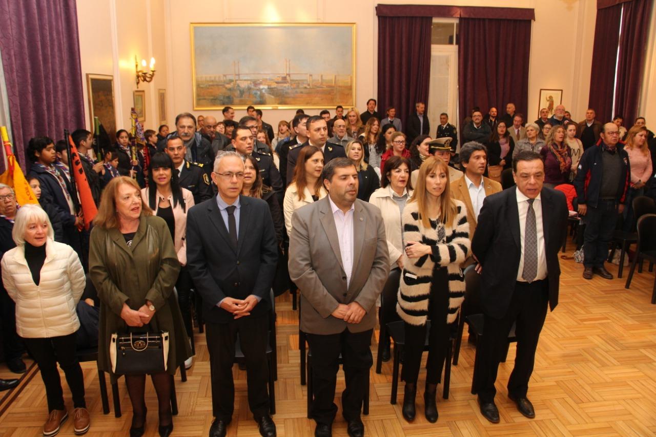 Zárate homenajeó a San Martín en un nuevo aniversario de su fallecimiento