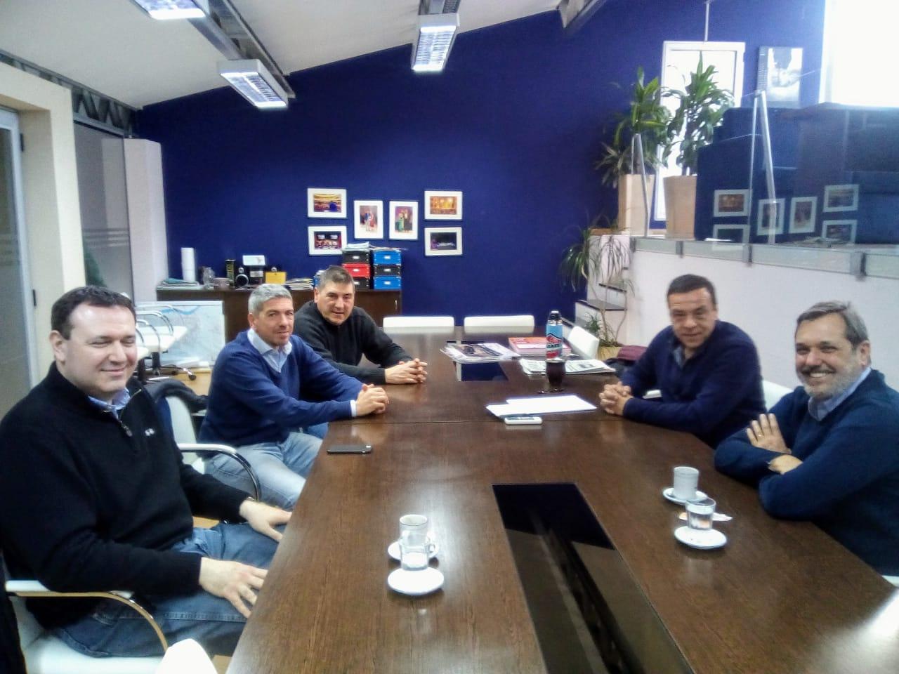 Cáffaro recibió a representantes de la Cooperativa Obrera que buscan invertir en la ciudad