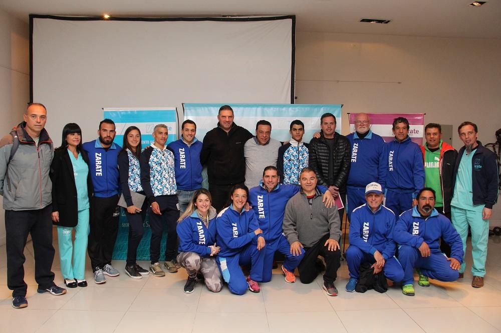 Municipio firmó convenio conF.A.De.Pa.C y reconoció a 4 deportistas
