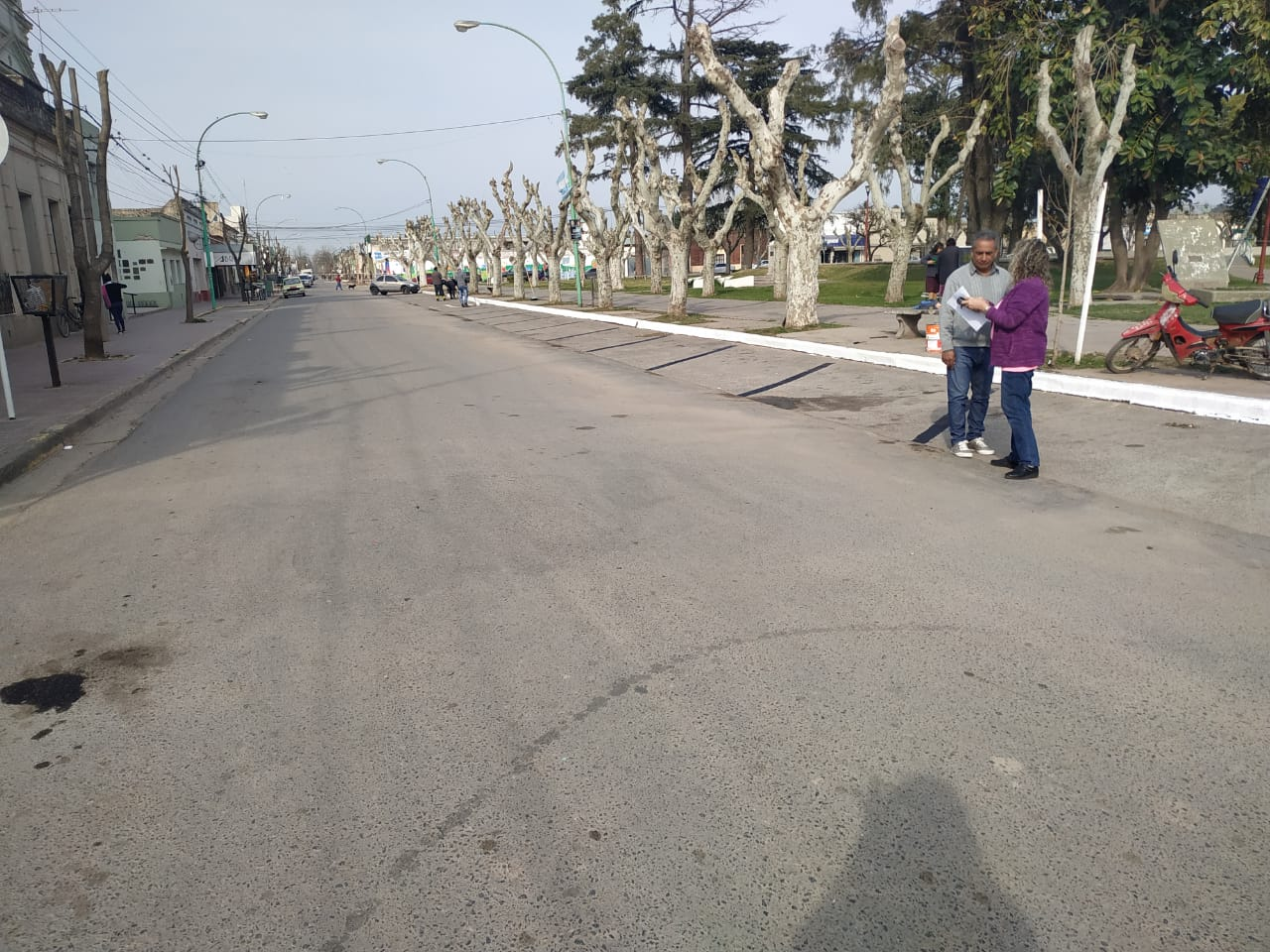 Comienzan obras de demarcación vial sobre avenida 11 en Lima