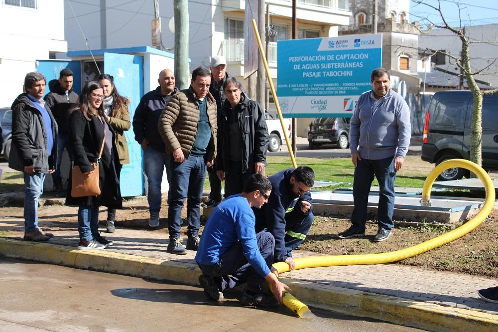 Se puso en marcha el pozo de extracción de agua para la zona céntrica