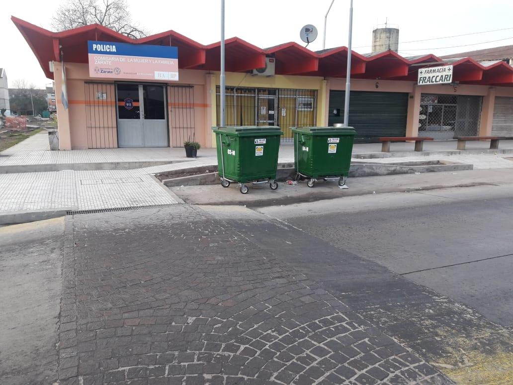 FONAVI ya tiene nuevos contenedores de residuos sólidos urbanos