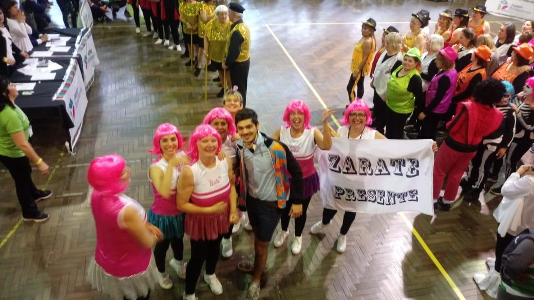 Adultos mayores zarateños participan de la final de los Juegos Bonaerenses en Mar del Plata