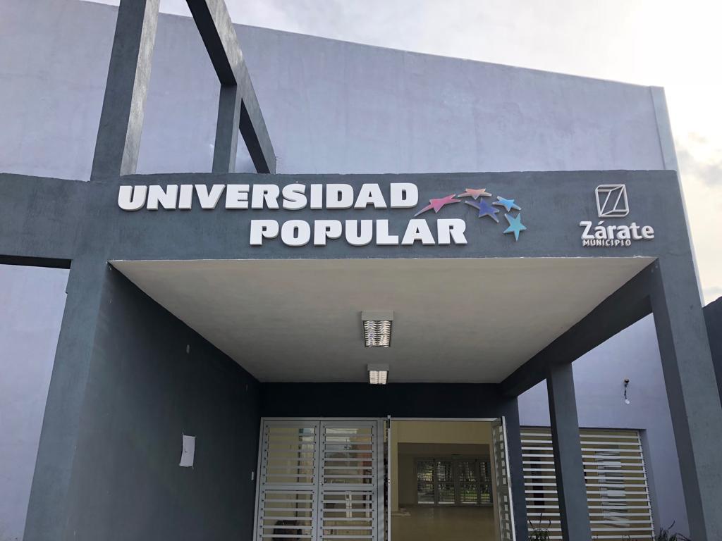 Nueva oportunidad para inscribirse en algunas de las carreras cortas de la Universidad Popular Zárate