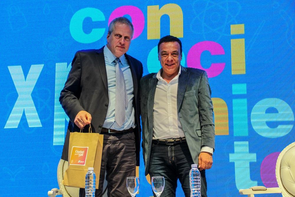 Expo del Conocimiento: Jaime Perczyk incentivó a los jóvenes a seguir estudiando