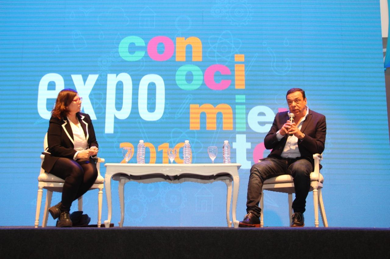 Silvina Batakis brindó la primera conferencia magistral de la Expo Conocimiento