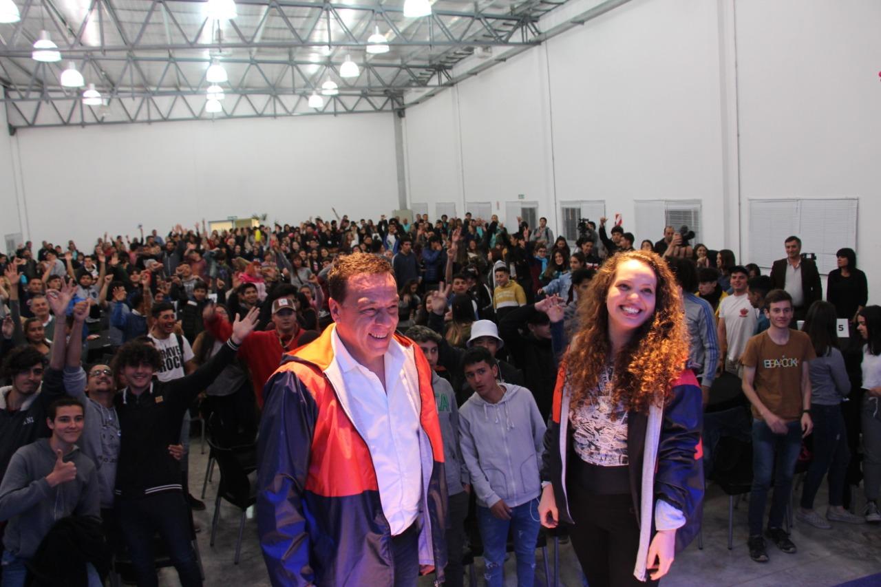 Mayra Arena cerró el segundo día de la Expo Conocimiento en el CGC