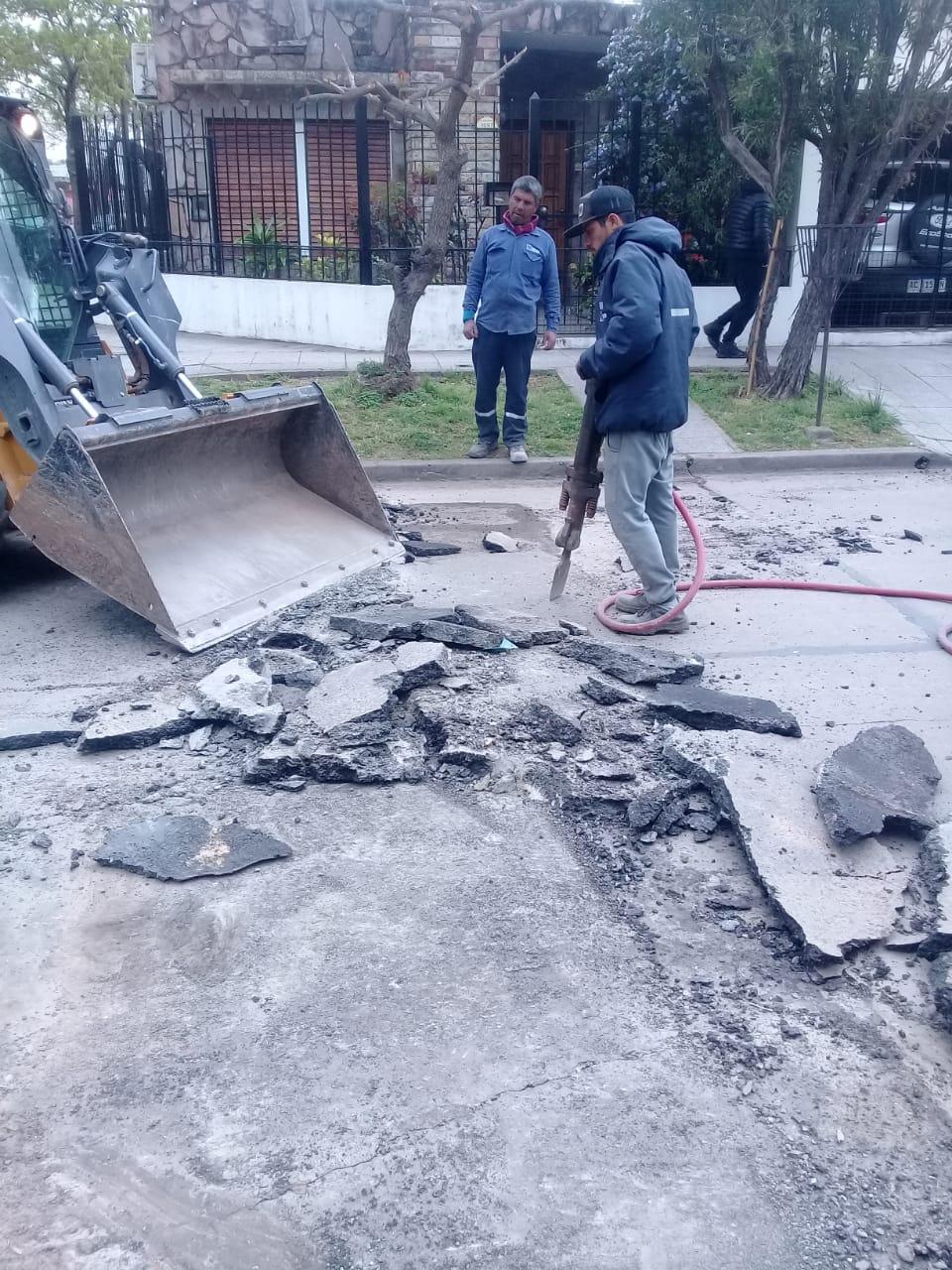 Municipio retira reductores de velocidad en Mitre e Yrigoyen