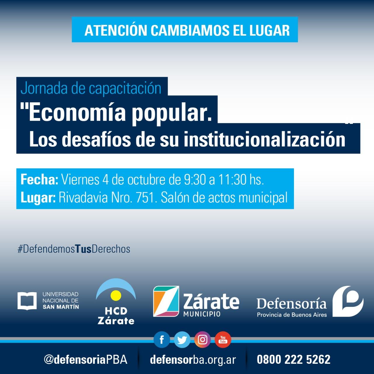 """Se realiza encuentro sobre """"Economía Popular. Los desafíos de su institucionalización"""""""