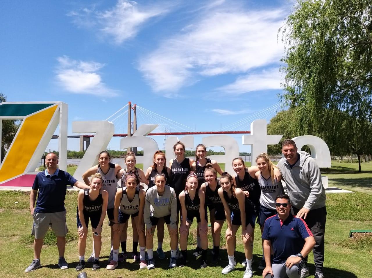 La Selección Argentina Femenina U17 finalizó su estadía en Zárate