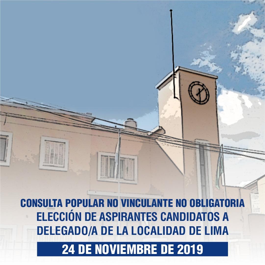 El domingo, los vecinos de Lima elegirán a su candidato a Delegado