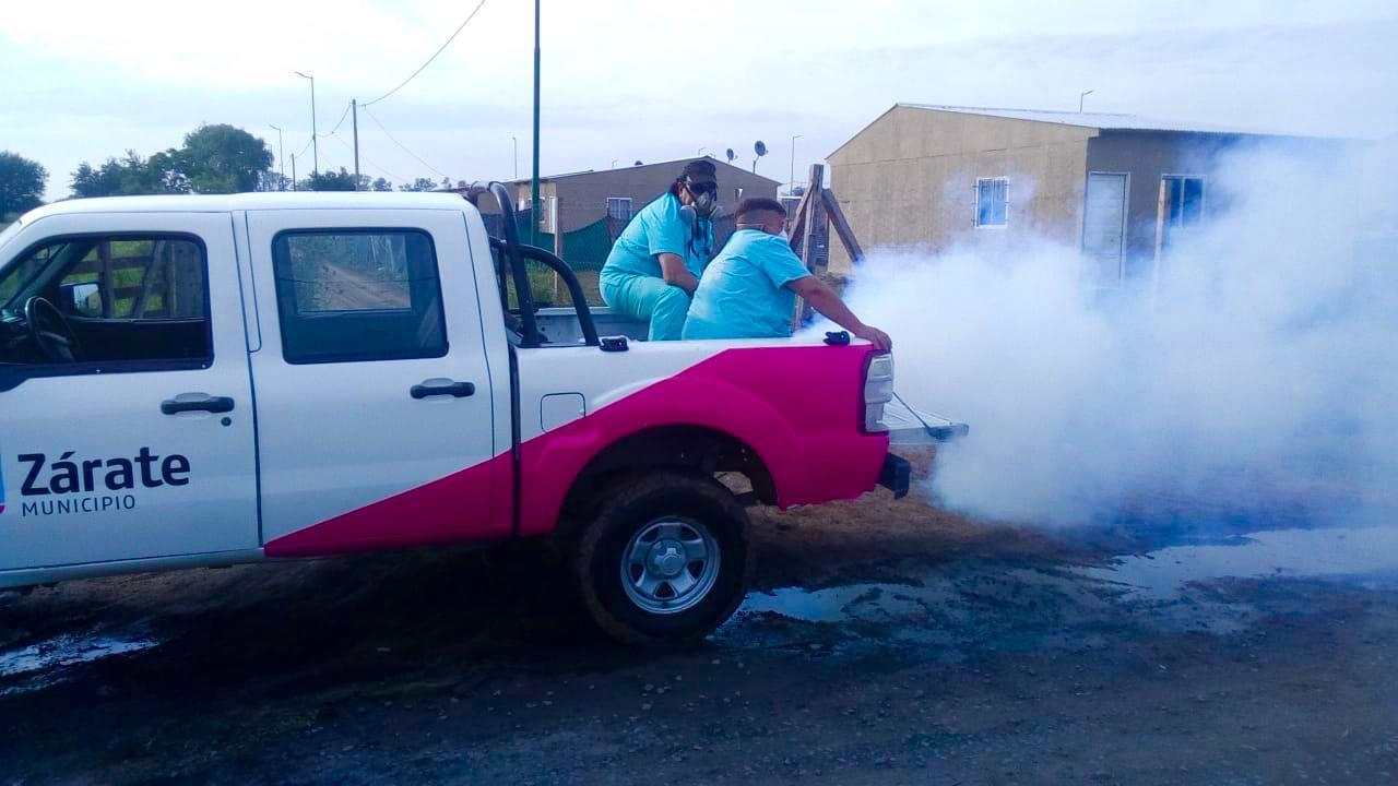 La Secretaría de Salud comenzó la campaña para evitar la propagación del dengue