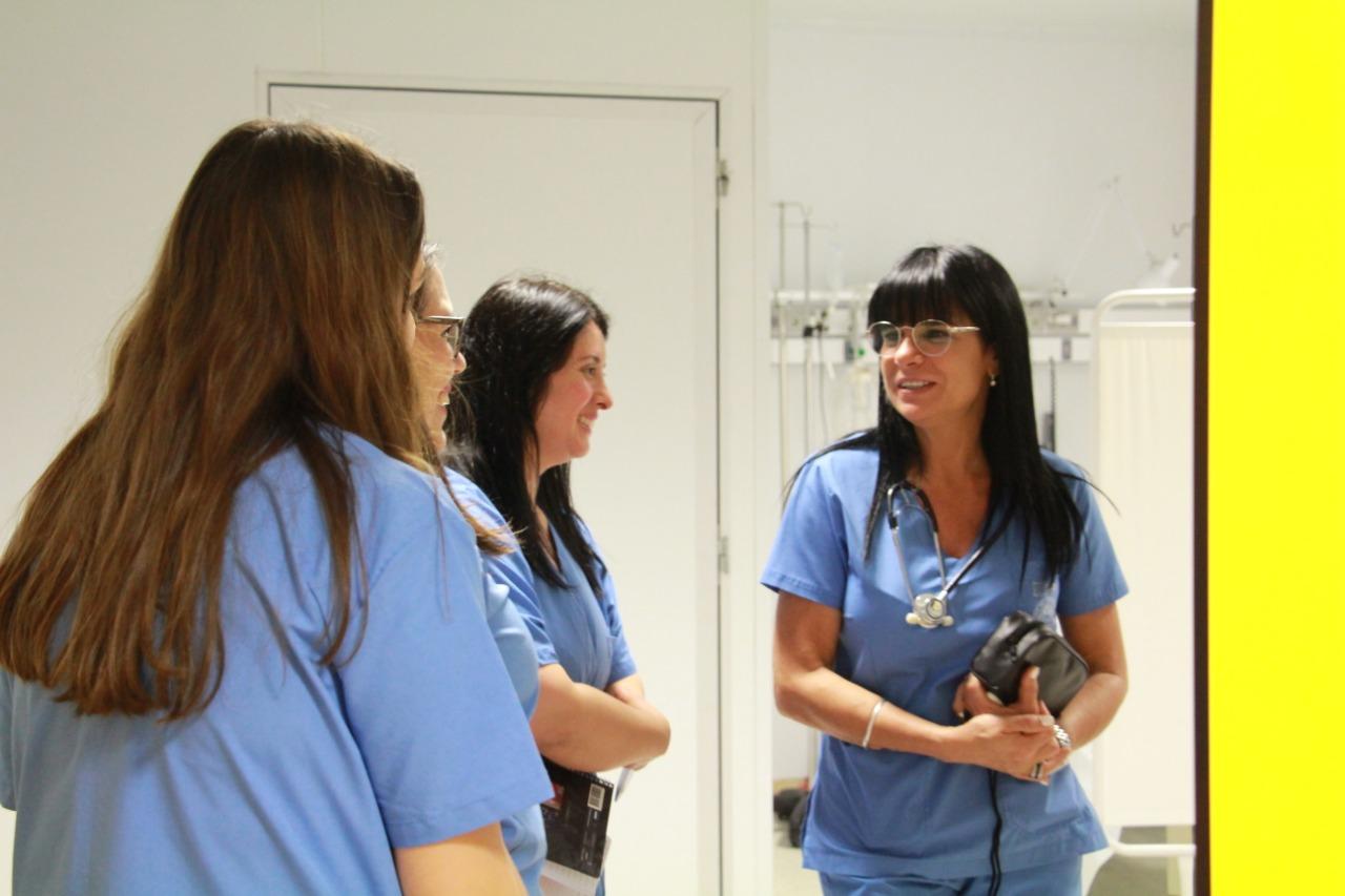 Alumnos de Medicina del CGC hicieron prácticas en el Hospital Favaloro