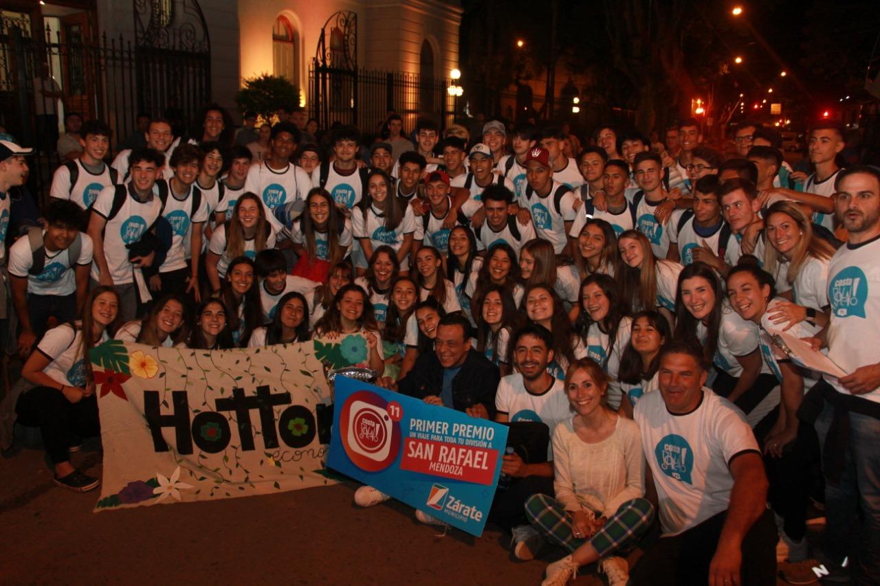 Ganadores de Costa Joven en camino hacia San Rafael Mendoza