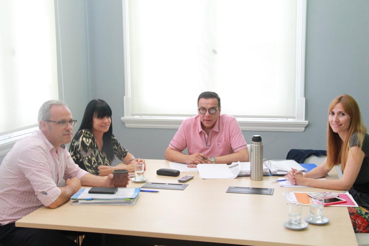 El intendente Osvaldo Cáffaro se reunió con el Director Provincial de Hospitales