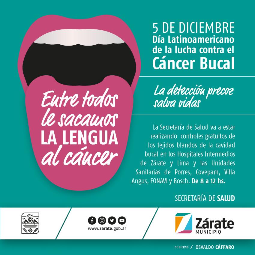 Se realizarán controles gratuitos por el Día Latinoamericano de la lucha contra el Cáncer Bucal