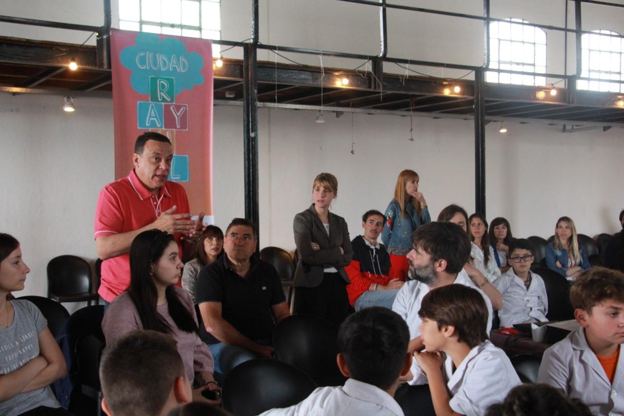 Ciudad Rayuela: se realizó encuentro por el proyecto ganador