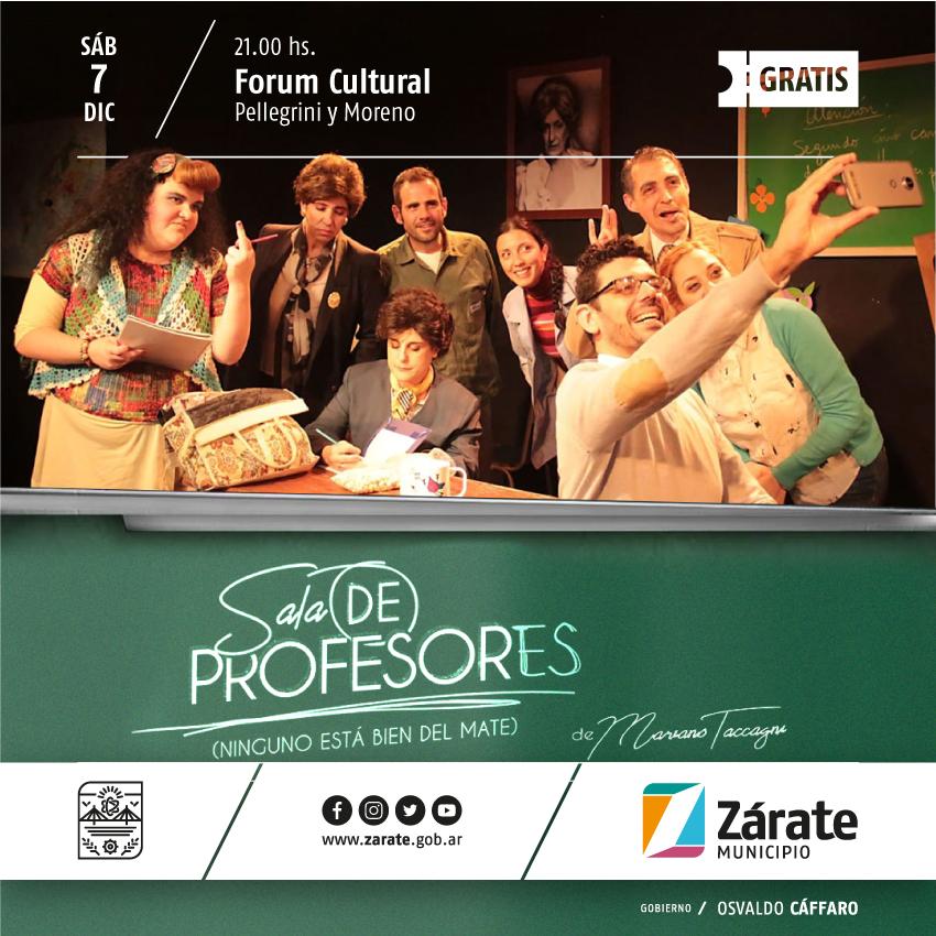"""Sala de profesores"" en el Forum Cultural"