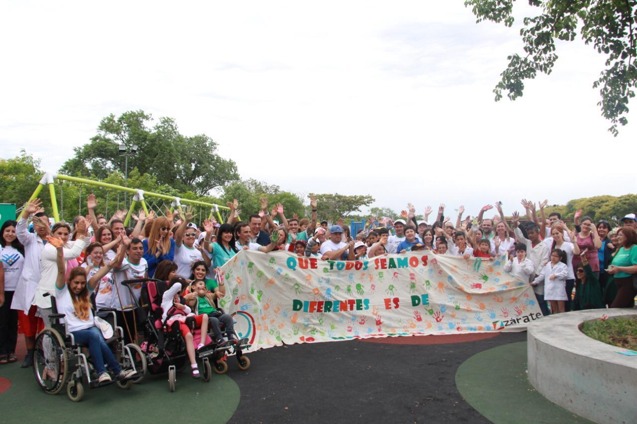 El Municipio celebró en la Plaza Inclusiva el Día Internacional de la Discapacidad