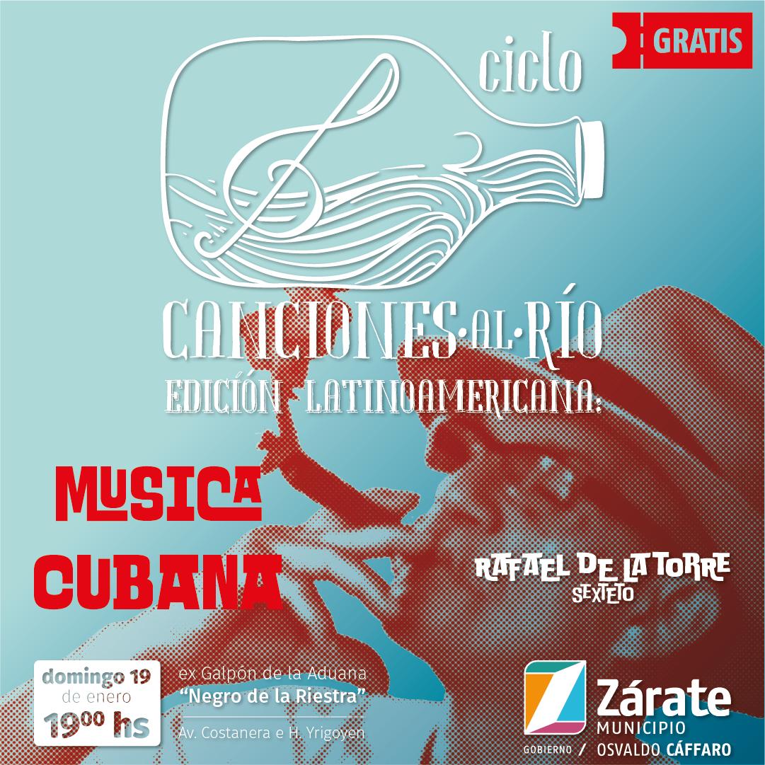 """En la edición Latinoamericana del Ciclo """"Canciones al Río"""" habrá música cubana"""