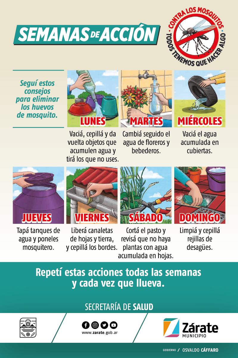 La Secretaría de Salud continúa la campaña contra eldengue
