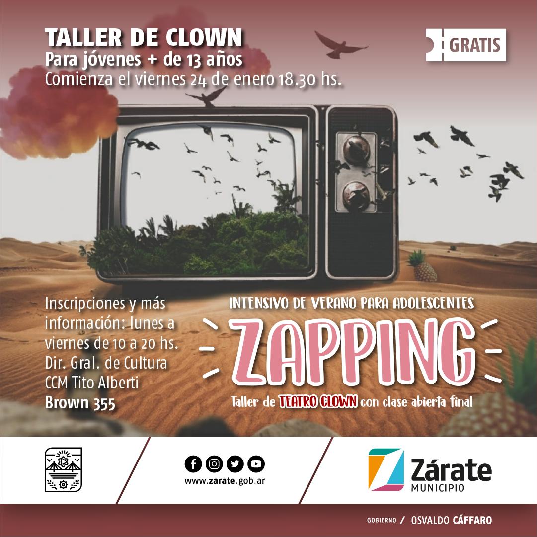 Municipio ofrece un seminario de Teatro Clown en el Tito Alberti de manera gratuita